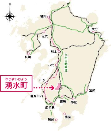 九州マップ