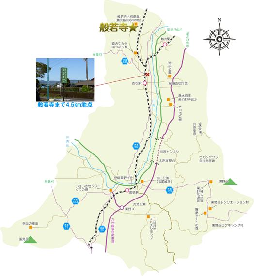 湧水町マップ