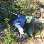 境内水系の配管、タンクの確認
