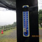 涅槃池の気温(午後)