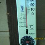 蛇堂内(午後)の気温