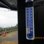 涅槃池の気温