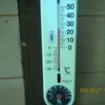 蛇堂内(午前)の気温