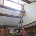 白蛇堂(台風対策)