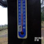 涅槃池の気温(午前)