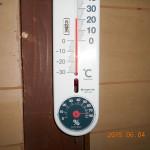 蛇堂内の気温(午前中)
