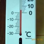 境内の気温