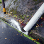 排水量の様子