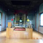 護摩堂の様子