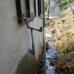 排水管の破損箇所