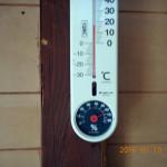 蛇堂前の気温(午前)