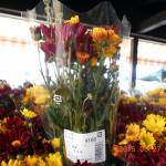 くりの物産館で花の購入