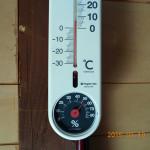 お堂内の気温