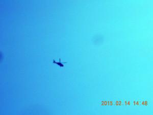 防衛省のヘリ