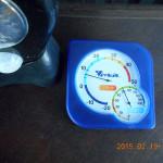 本堂の気温(午後)