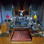 儀式の様子(護摩堂)