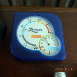 本堂の気温(午前)