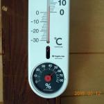 蛇堂の気温