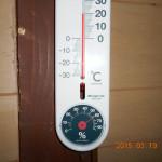 午後の蛇堂の気温