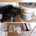倉庫の清掃