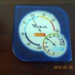 本堂の気温(午前中)