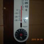 蛇堂の気温(午前)