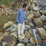 大池の水量調整