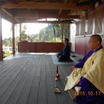 密教瞑想の様子