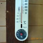 蛇堂前の気温(午後)