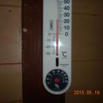蛇堂の気温(午後)