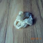 桃(オスかメスかは不明)の脱殻