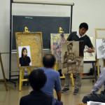 美術講習会1日目
