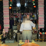 三々五々来寺の様子