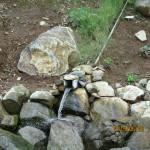 排水の確認