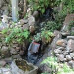 境内の水系流量確認
