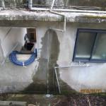 トイレの水系配管補修
