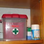 救急ボックスの確認