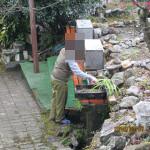 水系の清掃
