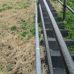 敷地内の水系配管補修