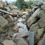 境内の水系の様子