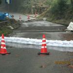 公共工事(排水溝取替)の様子