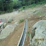 排水溝の清掃