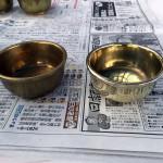 仏器の清掃