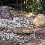 石碑設置の調整