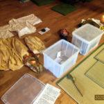 秋季柴燈護摩供養祈願祭の準備