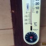 蛇堂内の気温(午前)