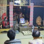 供養儀式の様子