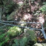 上流部の配管の確認