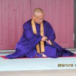 瞑想会の様子