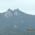 白嶽山の風景